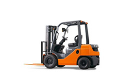 Training of forklift operators